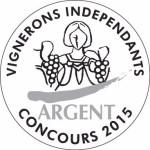 Vignerons Indépendants, Concours 2015 - Médaille Argent